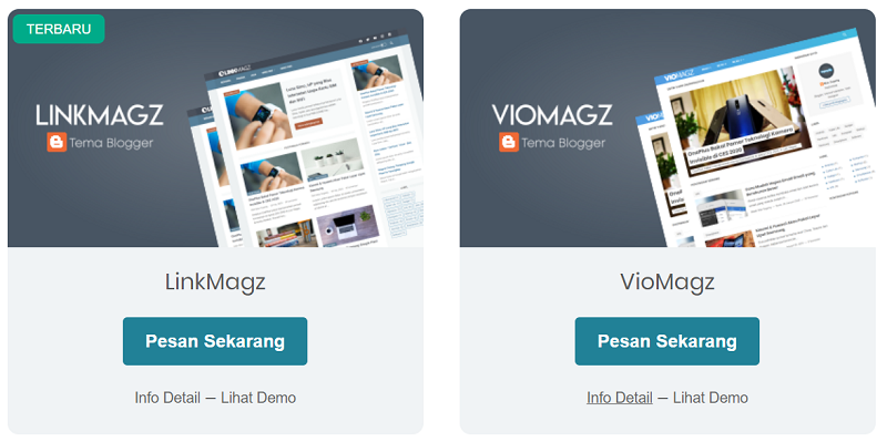 template blogspot viomagz